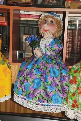 Мечтательница.Кукла пакетница.