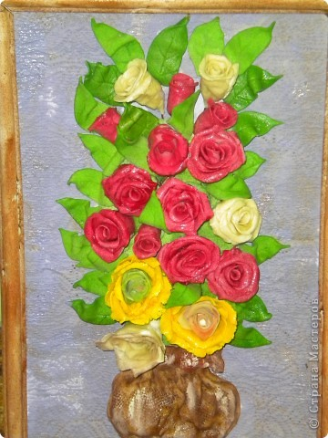 вот наконец-то свои розы собрала в букетики!что из этого получилось -судить вам фото 1