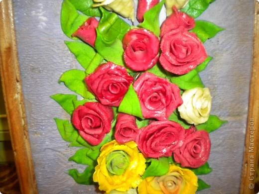 вот наконец-то свои розы собрала в букетики!что из этого получилось -судить вам фото 2