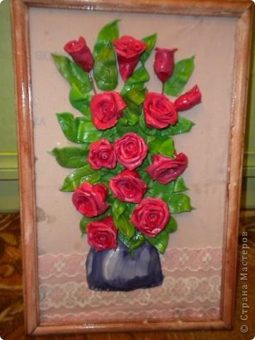 вот наконец-то свои розы собрала в букетики!что из этого получилось -судить вам фото 5