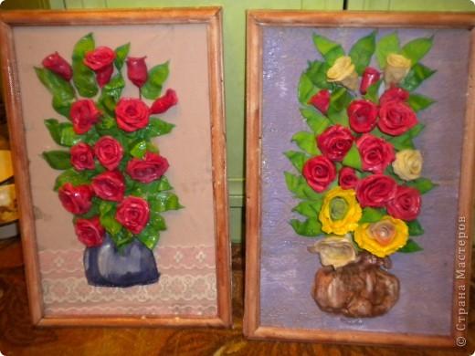 вот наконец-то свои розы собрала в букетики!что из этого получилось -судить вам фото 6