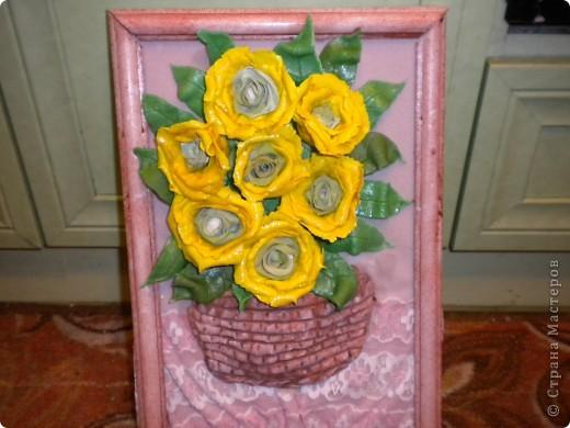 вот наконец-то свои розы собрала в букетики!что из этого получилось -судить вам фото 8