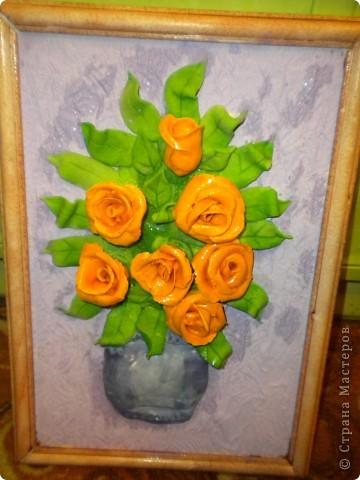 вот наконец-то свои розы собрала в букетики!что из этого получилось -судить вам фото 10