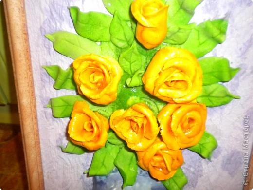 вот наконец-то свои розы собрала в букетики!что из этого получилось -судить вам фото 12
