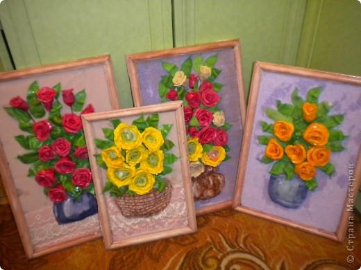 вот наконец-то свои розы собрала в букетики!что из этого получилось -судить вам фото 13