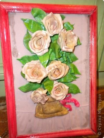 вот наконец-то свои розы собрала в букетики!что из этого получилось -судить вам фото 14