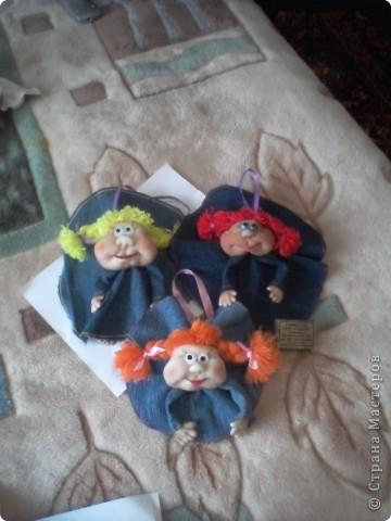вот представляю свои работы на Ваш суд.Эти куколки сделаны мной на заказ к 8 марта фото 1