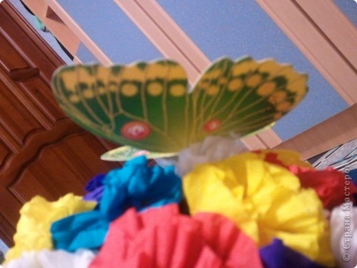 вот какие цветочки мы сделали с Танечкой!! фото 2