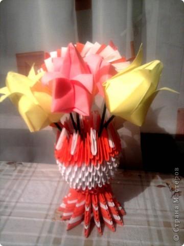 Подарки в школу учительницам-насамом деле очень красивые тюльпанчики  просто фотки с мобильного и искажают красоту фото 4