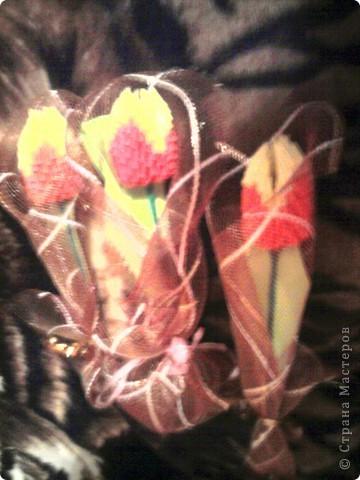 Подарки в школу учительницам-насамом деле очень красивые тюльпанчики  просто фотки с мобильного и искажают красоту фото 2