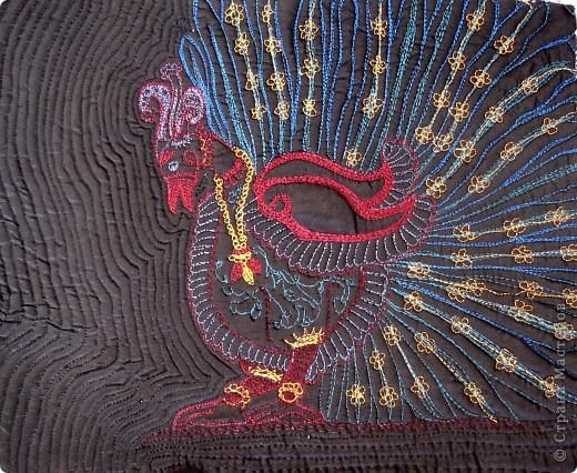 """Свободная вышивка на швейной машине """"Канха"""" фото 1"""