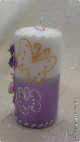 учимся украшать свечи фото 2