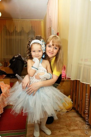 "Наш новогодний костюм ""Снежинка"" фото 2"