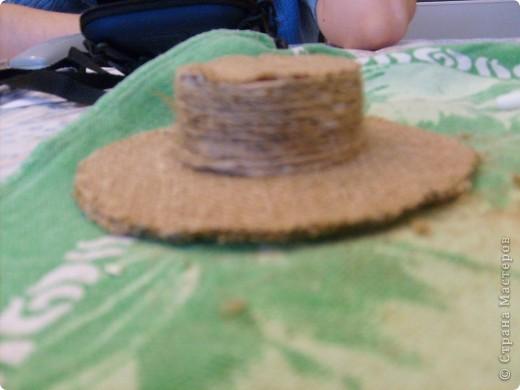 Мастер-класс Вырезание Шляпа для домового и маленький МК Бумага Мешковина фото 11