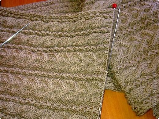 Вот решила связать шарф-снуд. Очень удобная вещь зимой, удобная и практичная. фото 3