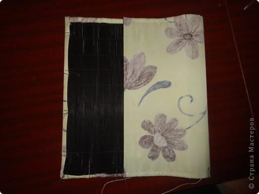 бамбуковая салфетка, с одной стороны обшиваем тканью на Ваш выбор фото 1