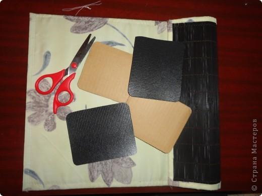 бамбуковая салфетка, с одной стороны обшиваем тканью на Ваш выбор фото 2