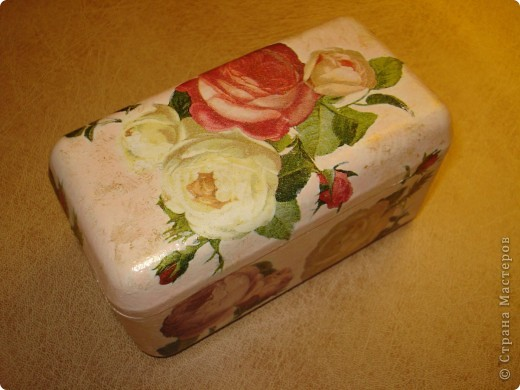 Я как всегда со своими коробочками-шкатулочками.Очень мне нравится их делать!... фото 6