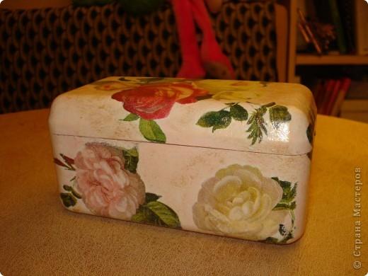 Я как всегда со своими коробочками-шкатулочками.Очень мне нравится их делать!... фото 7