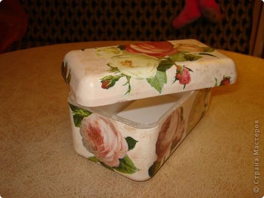 Я как всегда со своими коробочками-шкатулочками.Очень мне нравится их делать!... фото 9