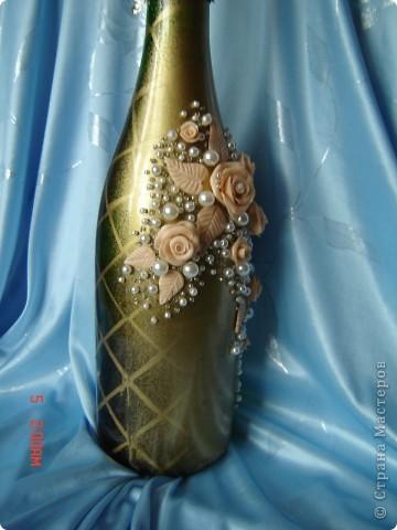 Моя первая бутылка и ... испорченная фото 2