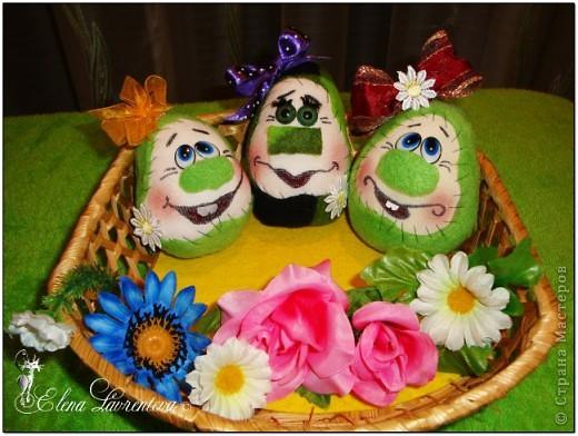 Веселые яйца к Пасхе. фото 1