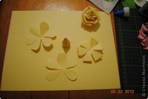 Мое дерево счастья с розами из бумаги фото 4