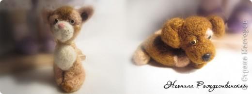 """Текстильные куклы """"Верные друзья""""  фото 11"""