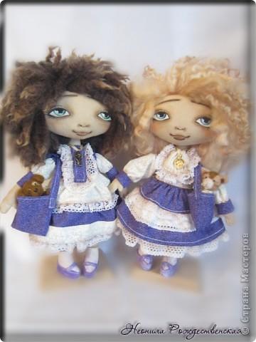 """Текстильные куклы """"Верные друзья""""  фото 2"""