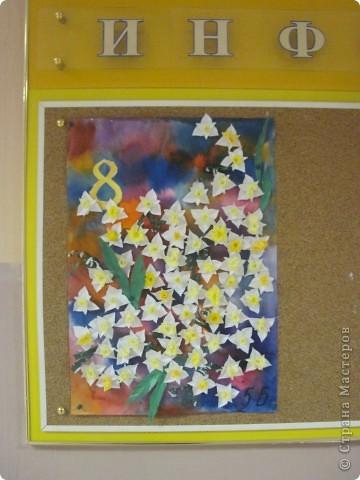 Вот такую открытку (плакат) сделали учащиеся 5 Б класса.  фото 3