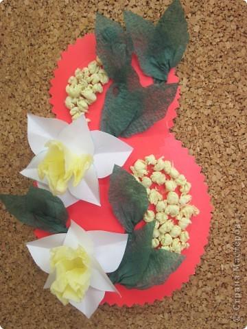Мы с мальчишками  (5 класс) делали такие открыточки в подарок учителям школы.
