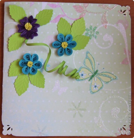 Доброго всем времени суток! Вот сделали с мальчишками открытки на 8 марта для воспитателей, сегодня пойдем поздравлять. Надеемся им понравятся наши подарки. фото 4
