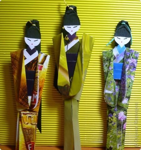 девочки-закладки для книги фото 3