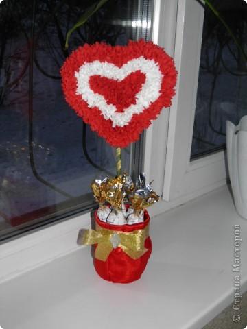 Подарочки к 8 марта букеты из конфет фото 1