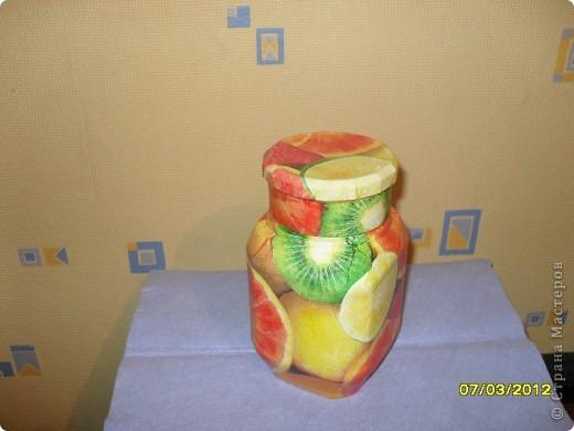 баночка в подарок для хранения цукатов или сухофруктов фото 1