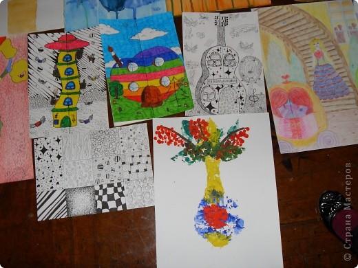 Это картины выполненные карандашом и углём(есть 2 выполненные фломастеом и несколько ручкой). фото 7