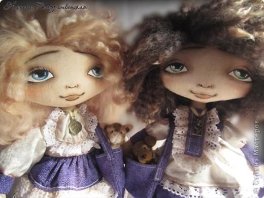 """Текстильные куклы """"Верные друзья""""  фото 1"""
