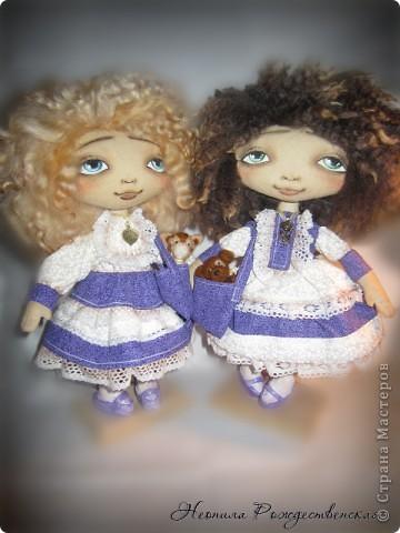 """Текстильные куклы """"Верные друзья""""  фото 3"""
