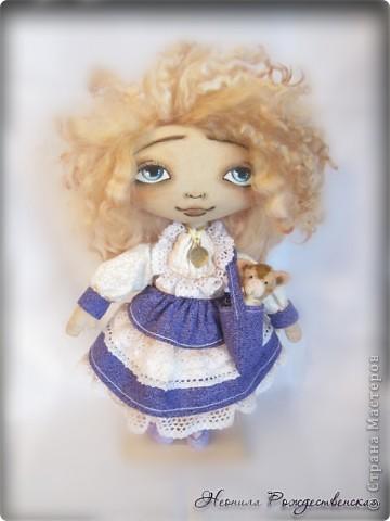 """Текстильные куклы """"Верные друзья""""  фото 4"""