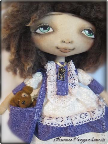 """Текстильные куклы """"Верные друзья""""  фото 7"""