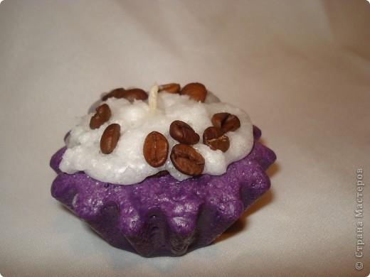 """Что-то меня на """"сладенькое"""" потянуло, наверное, весенний авитаминоз ))))) Вот такие свечки - пироженки получились фото 4"""
