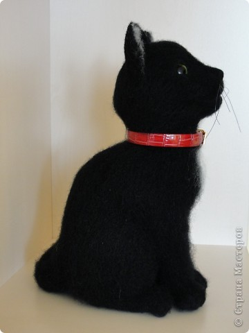 Валяный котик Сигизмунд II фото 3
