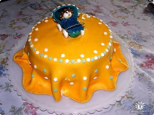 Торт на крестины моего сына фото 1