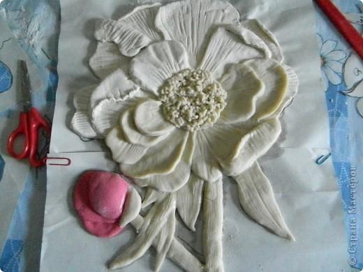 Мастер-класс 8 марта День матери День рождения Лепка Будет мак Тесто соленое фото 11