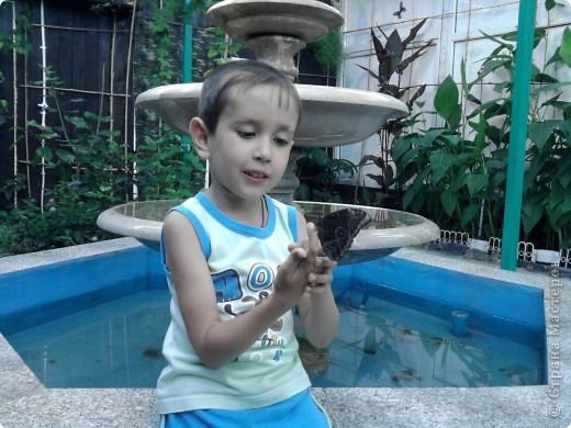 Сынулька очень не любит кашу вот я и решила испечь ему манник, да еще и в виде зайца....в таком виде каша ему понравилась)))) фото 2