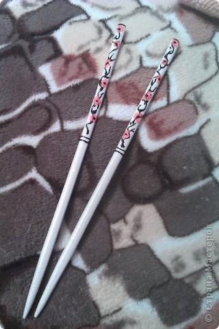 Обложки + палочки для длинных волос фото 4