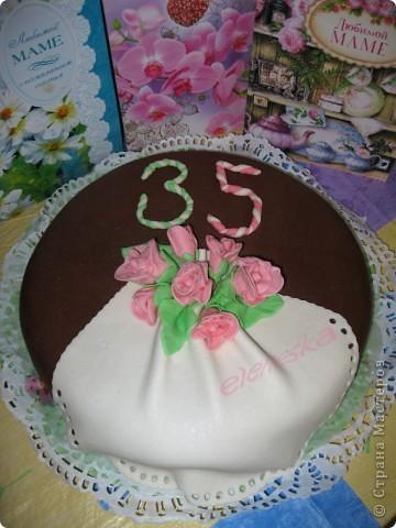 Цветочные тортики. фото 4