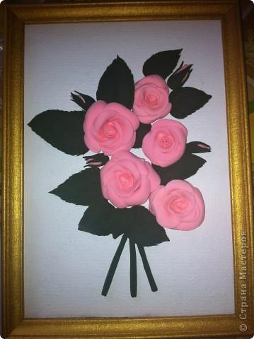 Пано из роз для мамули фото 2