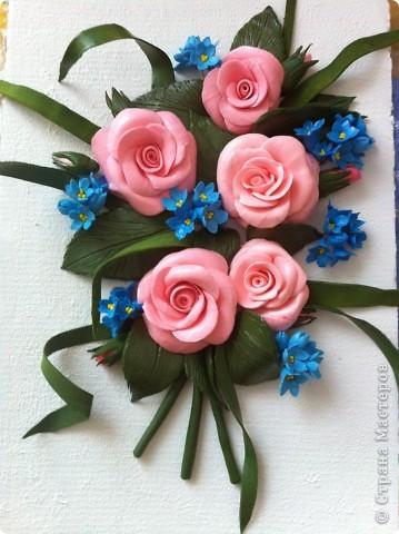 Пано из роз для мамули фото 1