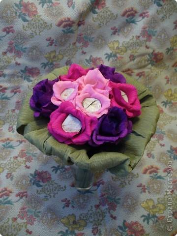 """Моя первая """"конфетная"""" роза фото 2"""